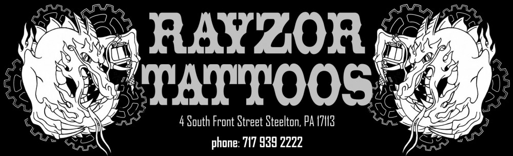 Tattoos Piercings Rayzor Tattoos Harrisburg Central