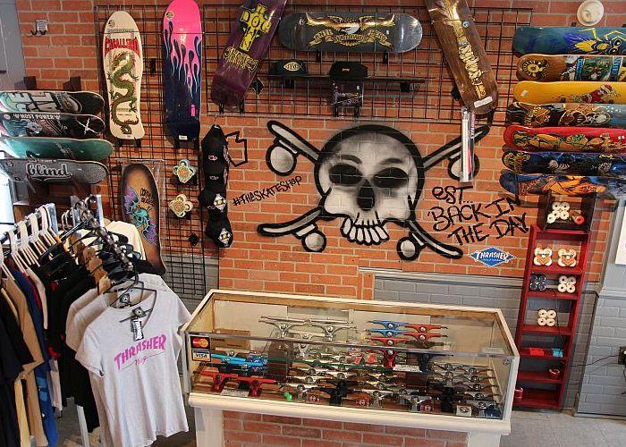 Steelton Skateshop at Rayzor TattoosRayzor Tattoos